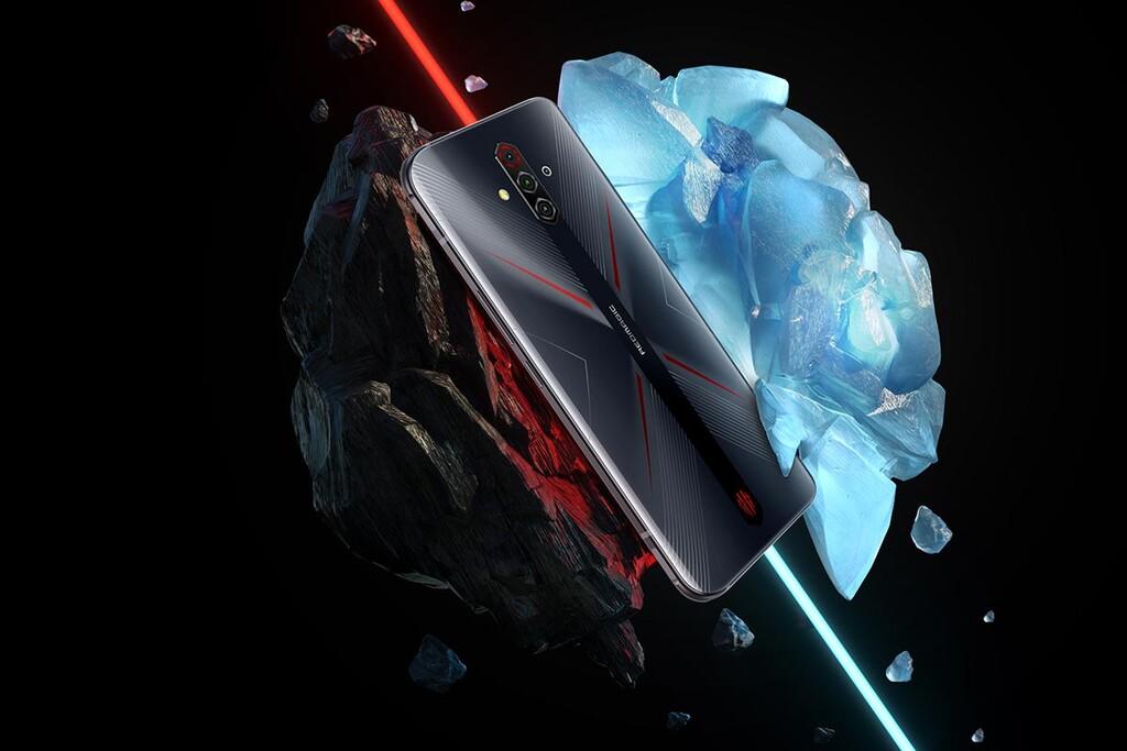 Nubia Redmagic 6 Lite: un móvil para jugones con Snapdragon 765G, pantalla AMOLED a 144 Hz y gatillos