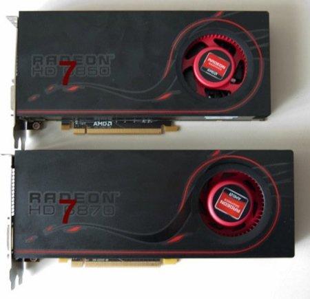 AMD 7950 y 7970 llegarán en enero, 7850 y 7870 en diciembre