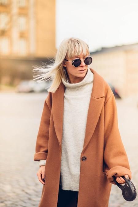 abrigo de paño mujer
