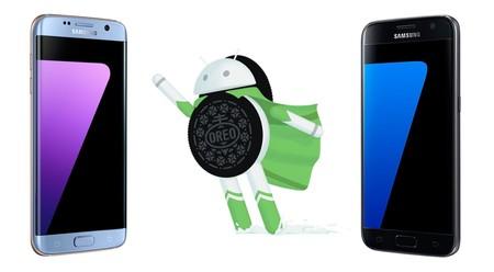 Los Samsung Galaxy S7 y S7 Edge actualizan a Android 8.0 Oreo