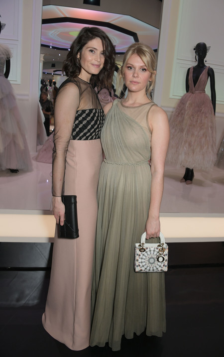 Gemma Arterton And Hannah Arterton At The Christian Dior Exhibition In London