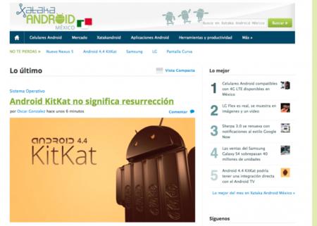 Los androides invaden México, les presentamos Xataka Android México