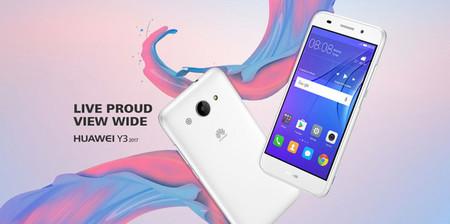 Huawei Y3 2017: características básicas para el nuevo gama de entrada del fabricante chino