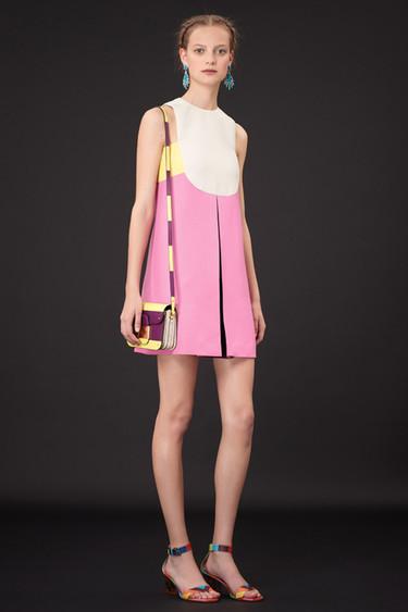 Clonados y pillados: wanted, el vestido tricolor de Valentino visto en Suiteblanco