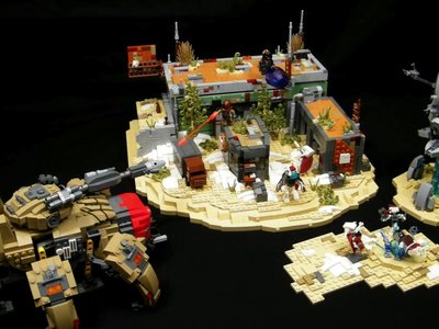 Con paciencia y las piezas adecuadas puedes montarte este impresionante set de LEGO inspirado en Destiny