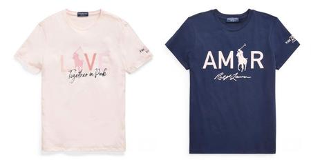 Ralph Lauren Tine De Rosa Una Coleccion De Camisetas Para Sumarse A La Lucha Contra El Cancer De Mama