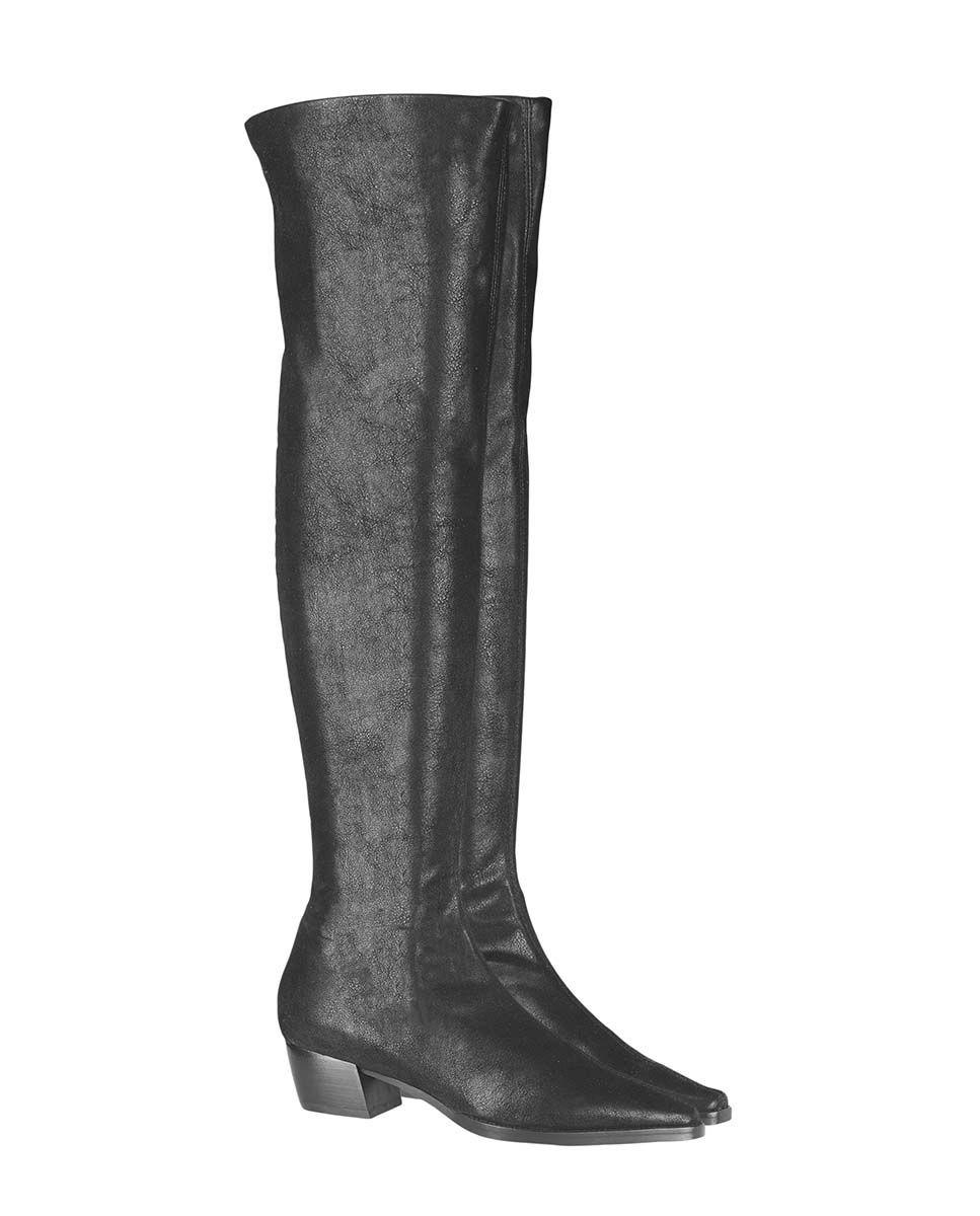 Botas de mujer Úrsula Mascaró en tela negra