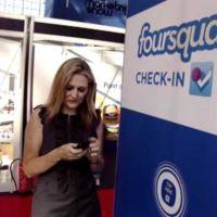 Llega el ckeck-in vía NFC. Nueva actualización de Foursquare para BlackBerry
