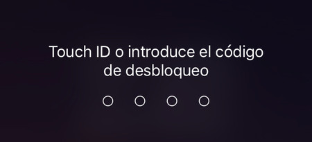 Touch Id Bloqueo