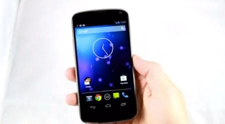 El Nexus 4 de LG y Google se deja ver en vídeo