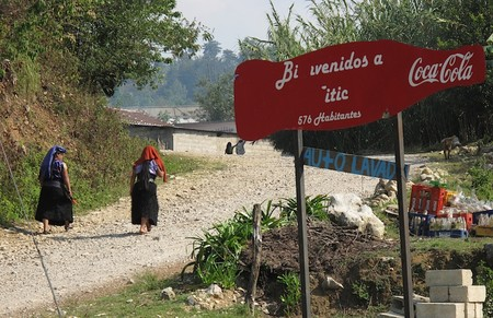 Cp Cartel Que Anuncia Camino A Yitic En Los Altos De Chiapas