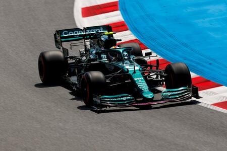 Vettel Barcelona F1 2021