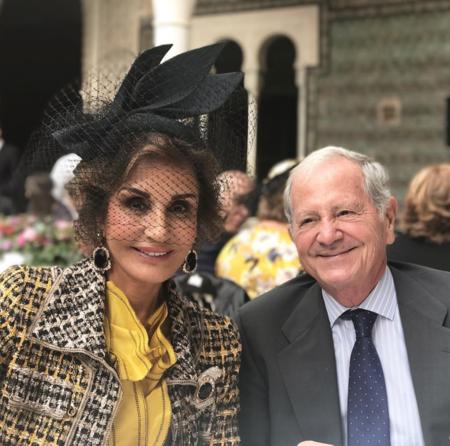 El día en que Naty Abascal nos dejó a todos sin palabras con su look de boda en Sevilla