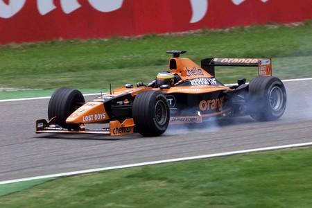 De La Rosa Hockenheim F1 2000