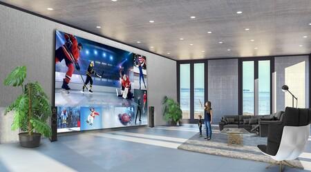 LG lanza pantallas gigantes de hasta 325 pulgadas con tecnología DVLED: esto sí que es un cine en casa