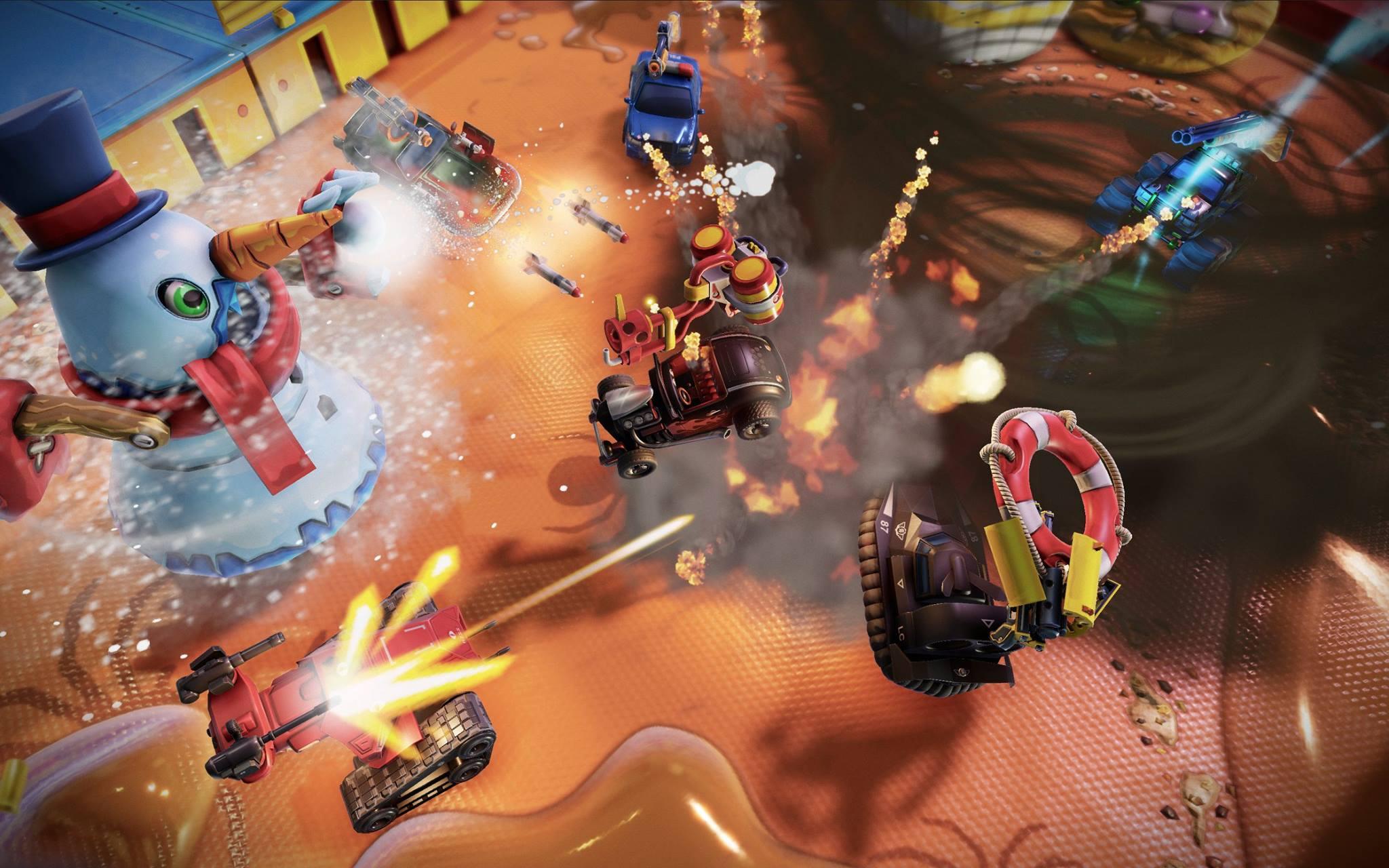 Micro Machines World Series quiere ser el juego de carreras más loco y visto en movimiento hay motivos para creer