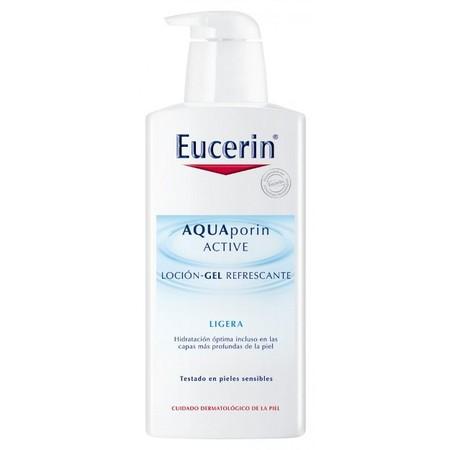 Probamos la Loción Gel Refrescante Aquaporin Active de Eucerin, un plus de hidratación y frescor para tu piel