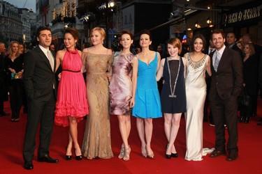 Las famosas en la alfombra roja de la premiere de 'Sucker Punch'
