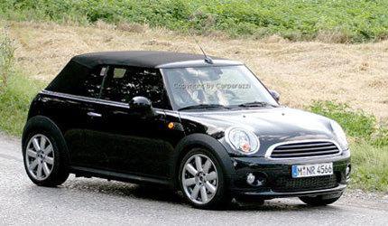 Fotos espía del Mini Cooper Cabrio