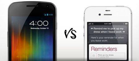 Video Samsung Galaxy Nexus Vs Apple Iphone 4S ¿Cuál es mejor?