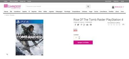 Tomb Raider Liveprool