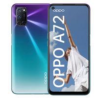 Nuevo OPPO A72: cuatro cámaras traseras y batería de 5.000 mAh en un gama media con pantalla perforada