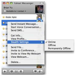 Importante actualización en Yahoo Messenger para Mac