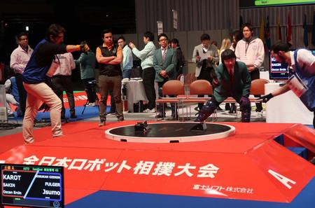 La lucha de robots ya tiene un género que de verdad está triunfando: el Robo-sumo