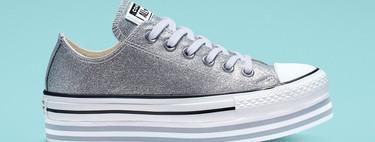 Las Converse metalizadas son las zapatillas perfectas para pisar la oficina este otoño sin renunciar al diseño y a la comodidad