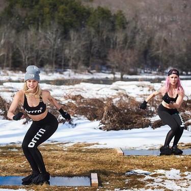 Fitness en frío: todas las ventajas y desventajas de llevar a cabo nuestro entrenamiento en una sala a 10 grados