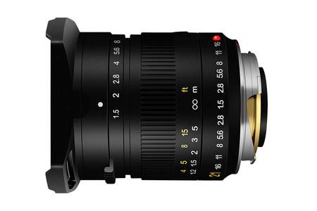 TTArtisan 21mm F1.5 para monturas M de Leica: El nuevo objetivo japonés de bajo costo para los sistemas alemanes