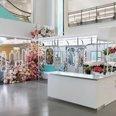Este San Valentín los ramos más bonitos están en la floristería pop-up de Tiffany's de Nueva York