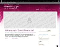Probamos cómo funciona Drupal Gardens