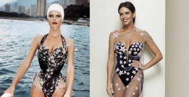 Sigue la polémica con el vestido-bañador de Cristina Pedroche: ahora acusan al diseño de ser un plagio
