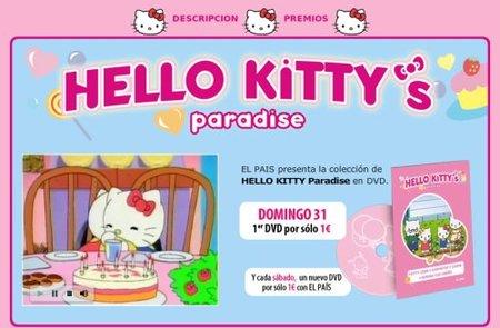 Colección de DVDs de Hello Kitty con El País