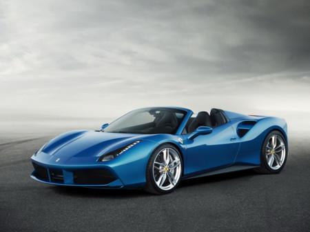 Ferrari 488 Spider, azul como el cielo (y el nuevo Ford GT)