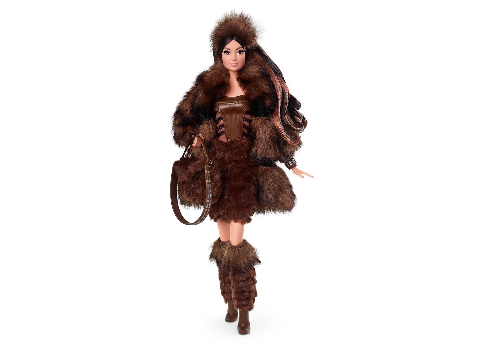 Barbie Chewbacca Star Wars