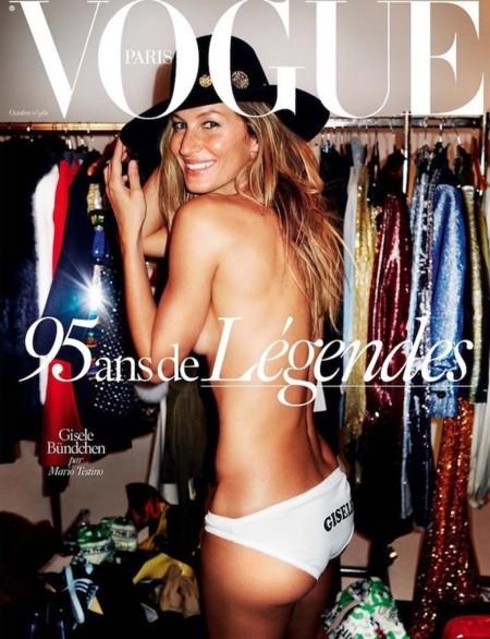 Vogue Paris (I): Gisele Bündchen