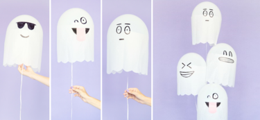 Paso a paso: cómo crear divertidos fantasmas para Halloween