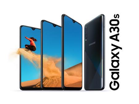 Galaxy A10s, A20s y A30s llegan a México: la renovada gama media de Samsung con baterías de 4,000 mAh, estos son sus precios