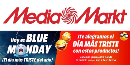 MediaMarkt te alegra el Blue Monday con unas cuantas ofertas interesantes