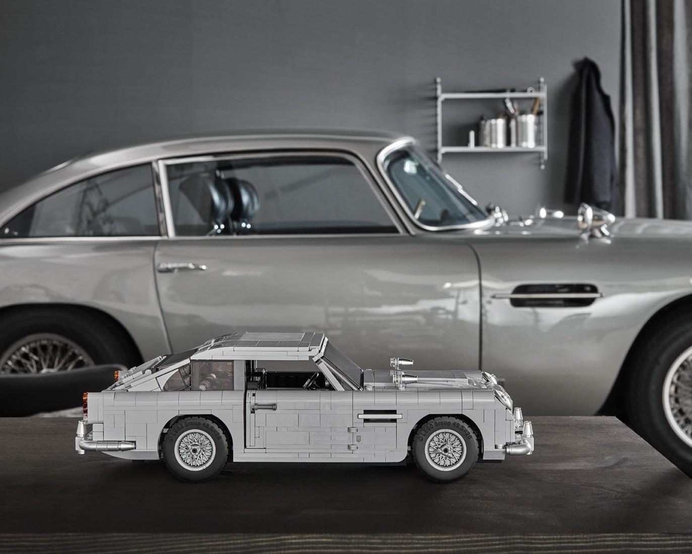 Foto de Aston Martin DB5 007 de LEGO (7/39)