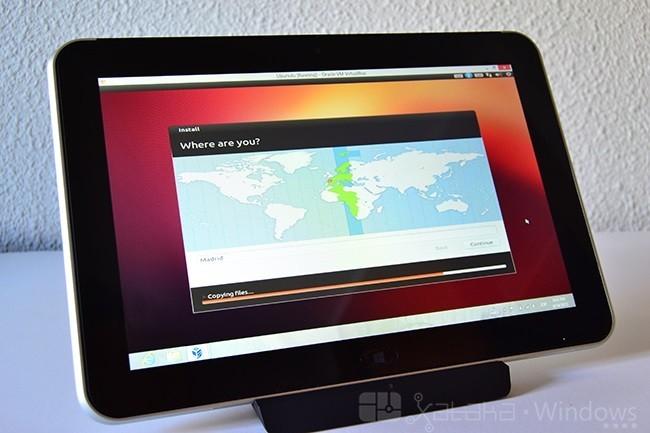 Linux en el ElitePad