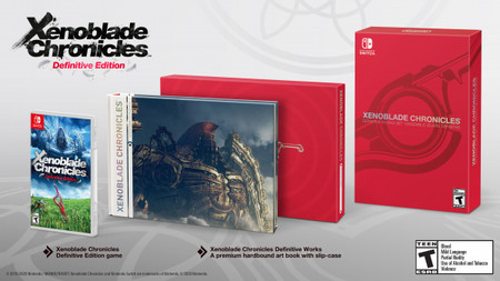 Xenoblade Chronicles Definitive Edition Artbook