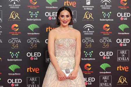 Tamara Falcó deslumbra en los Goya 2020 con este lookazo