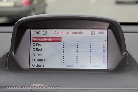 Opel Mokka, equipo de audio