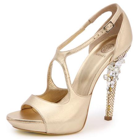 Sandalia Versace para novias