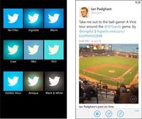 Twitter para Windows Phone se actualiza incorporando filtros para imágenes