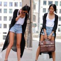 Moda en la calle: los shorts vaqueros frente a las modas efímeras
