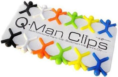 Clips coloridos y originales